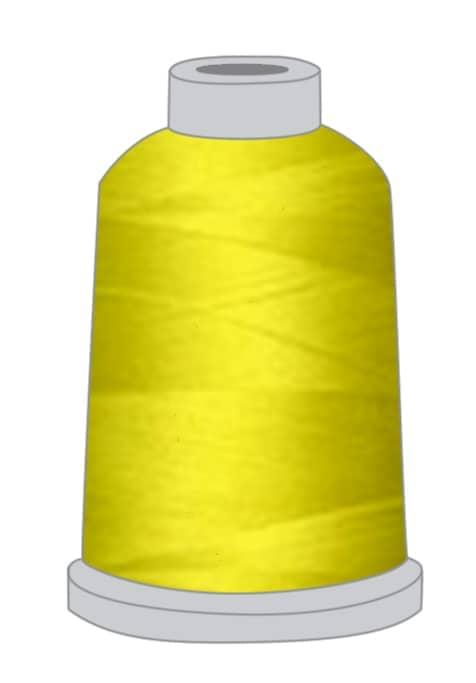 Stickgarn gelb