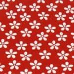 Blumen rot-weiß