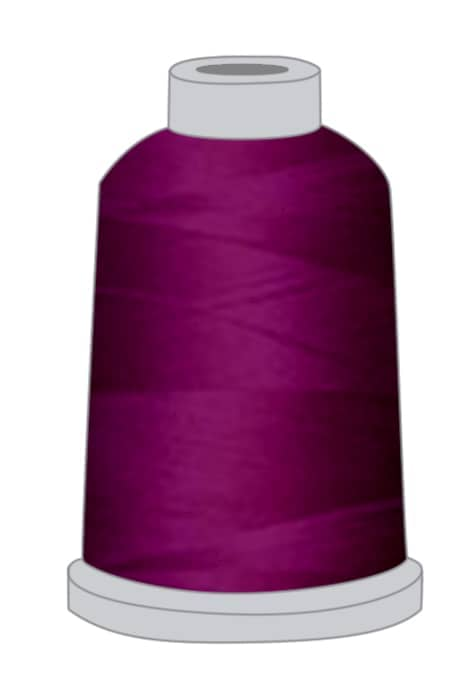 Stickgarn violett
