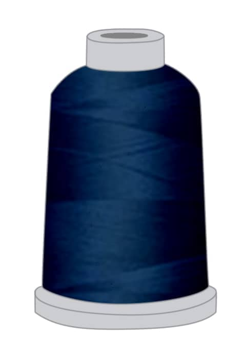 Stickgarn dunkelblau
