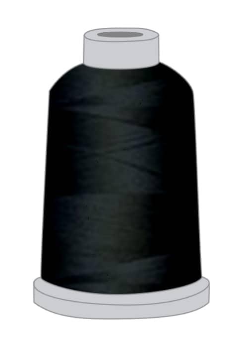 Stickgarn schwarz