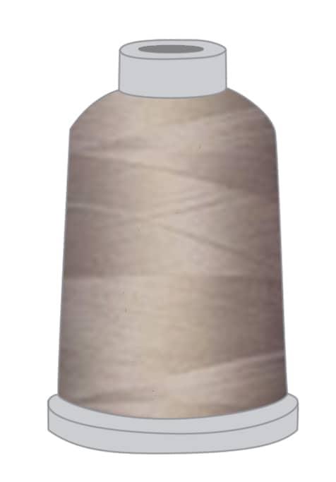 Stickgarn taupe