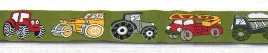 Borte Fahrzeuge oliv