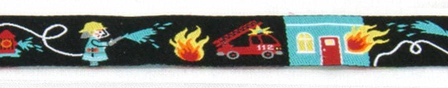 Borte Feuerwehr schwarz