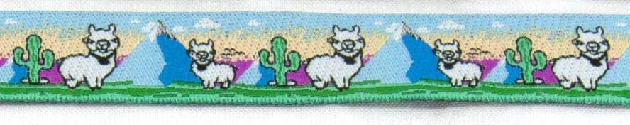 Borte Lama blau