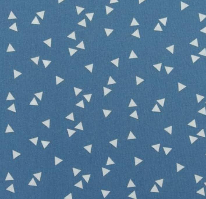 Dreiecke blau