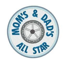 All Star Rad im Kreis