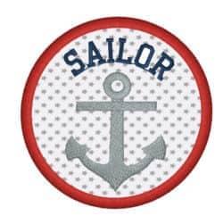 Anker Sailor im Kreis