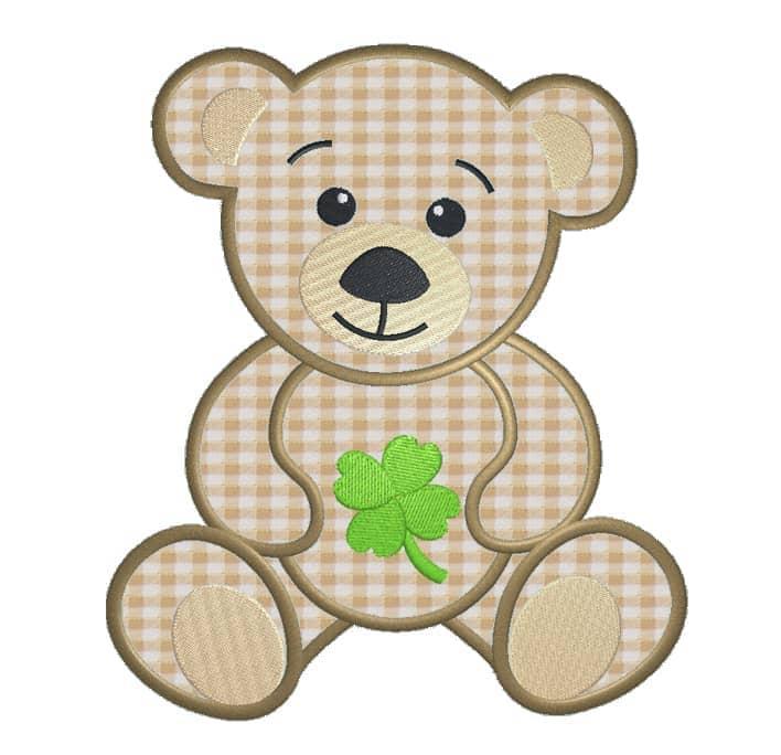 Teddy mit Klee