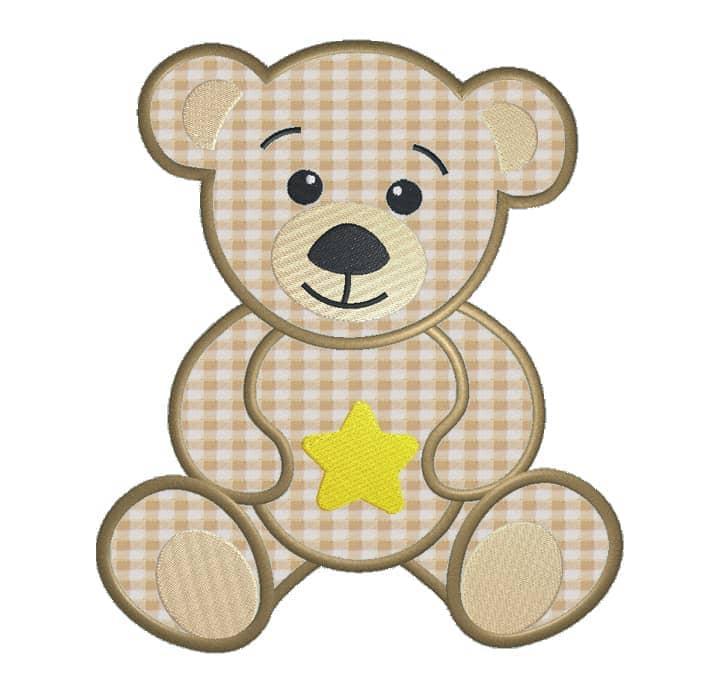 Teddy mit Stern