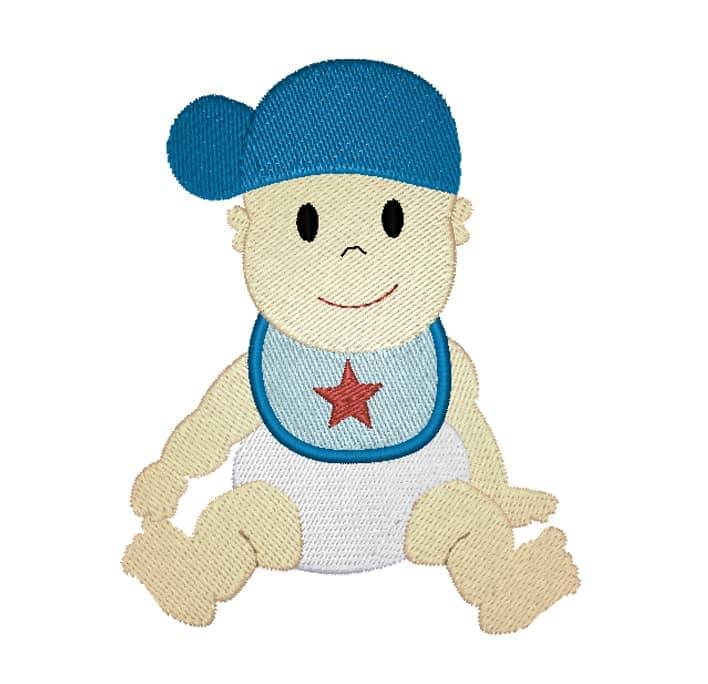 Baby Boy mit Cap
