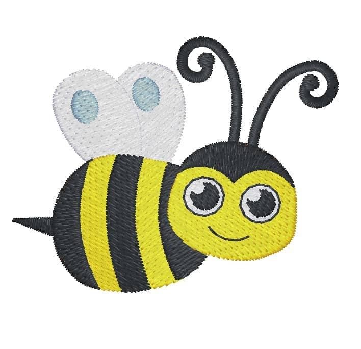 Biene seitlich