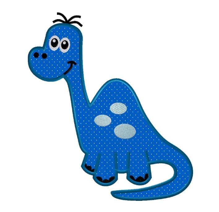Dino Langhals blau