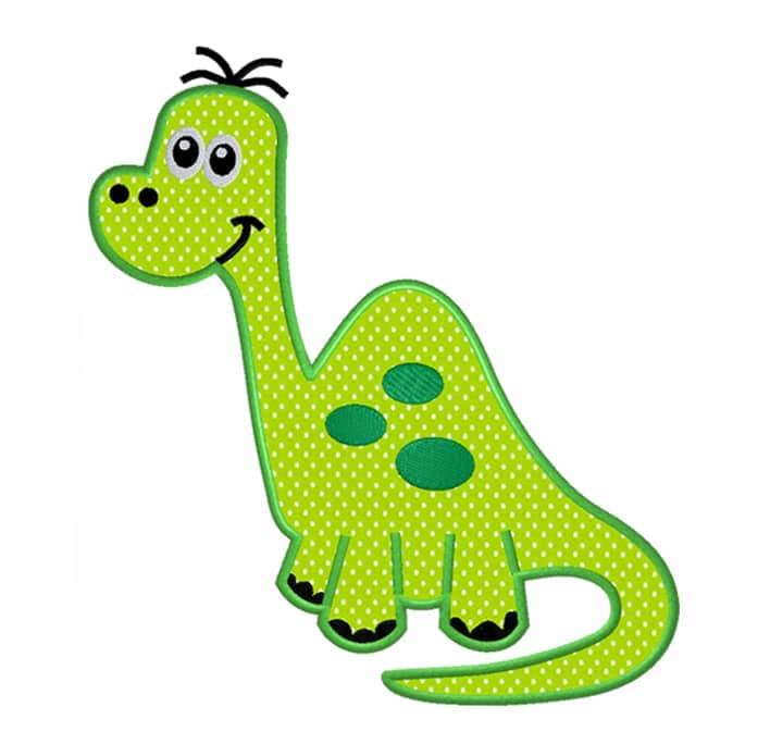Dino Langhals grün