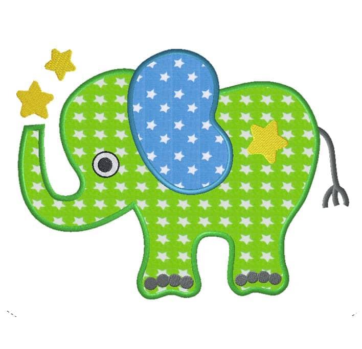 Elefantenboy mit Sternen