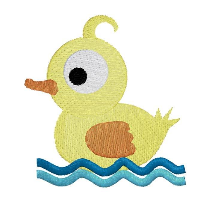Entenboy im Wasser