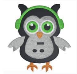 Eule Musik Boy