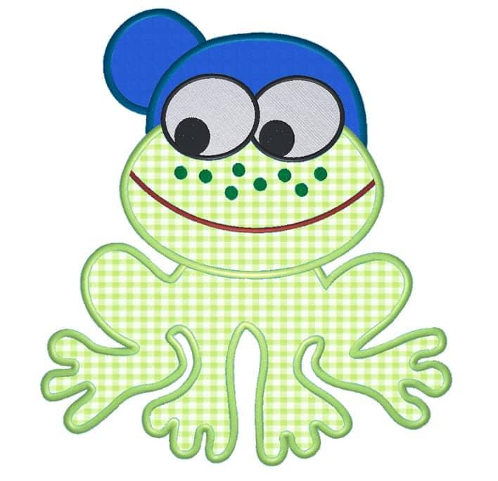 Frosch mit Cap
