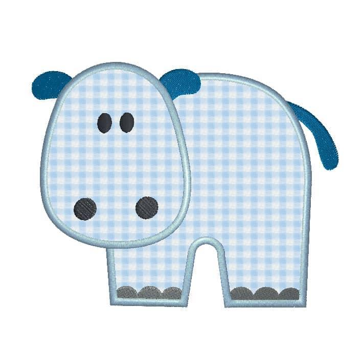 Hippo blau