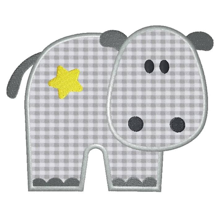 Hippo mit Stern