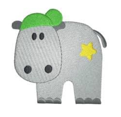 Hippo mit Cap