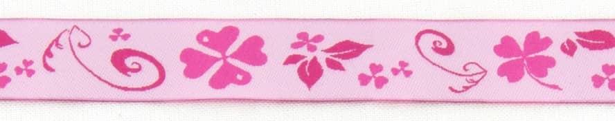 Borte rosa pink Klee (breit)