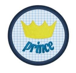 Krone Prince im Kreis