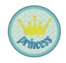 Krone Princess im Kreis