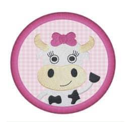 Kuh Frieda im Kreis