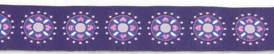 Borte lila glitzer Kreise