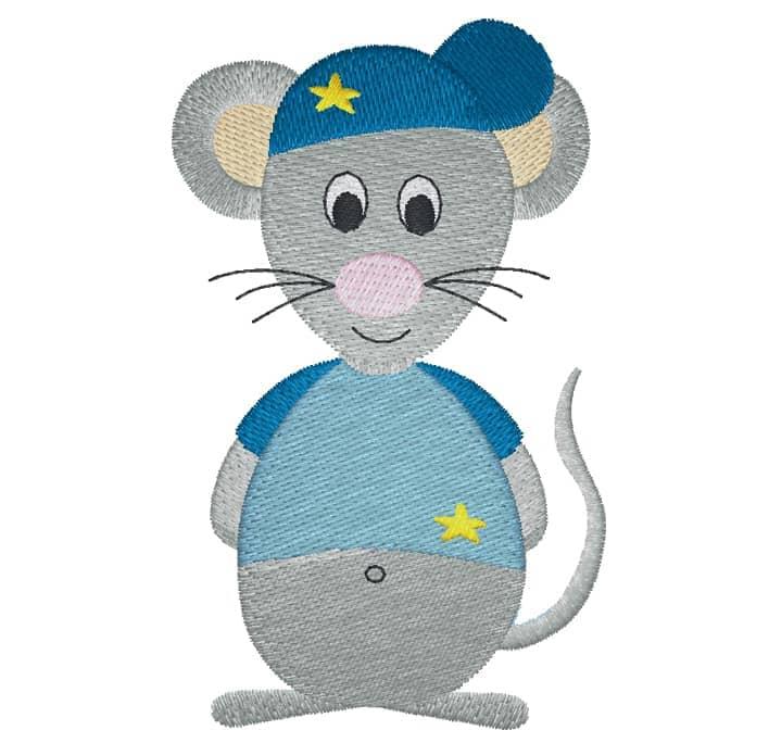 Maus mit Cap