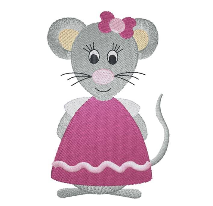 Maus mit Masche