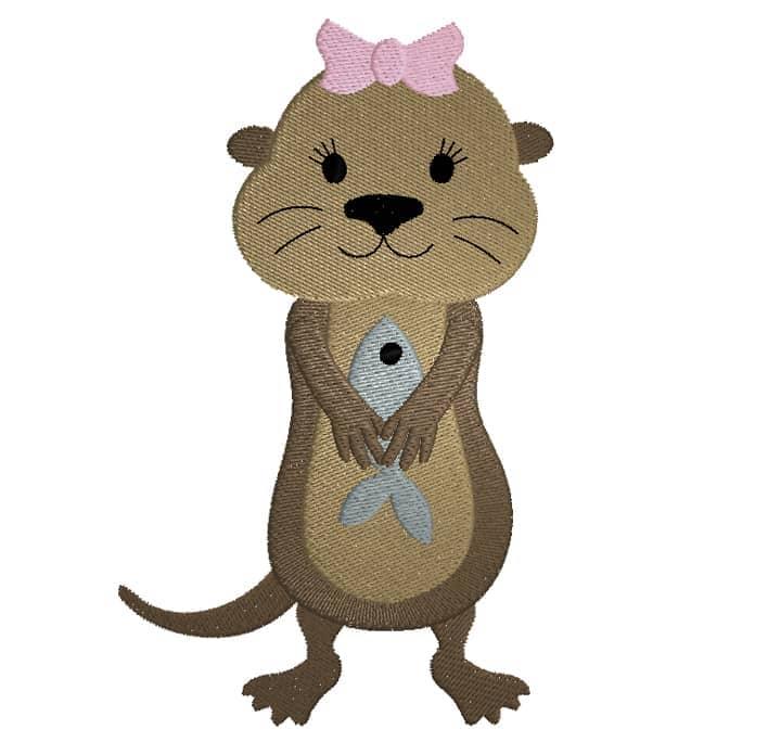 Otter Girl