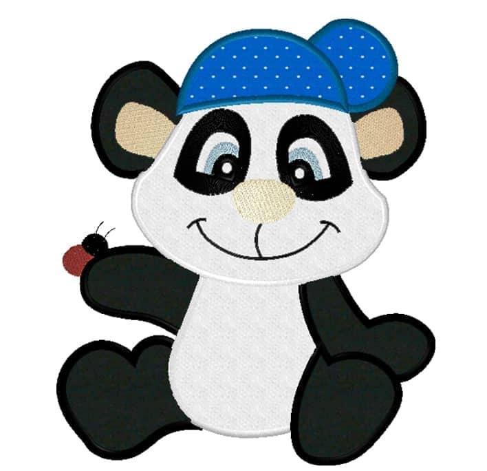 Panda mit Cap