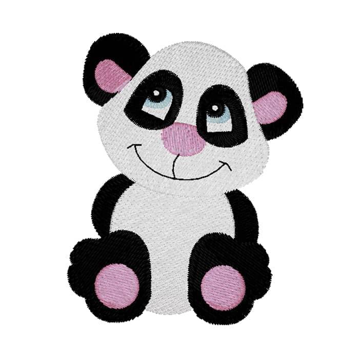 Pandabär treuherzig