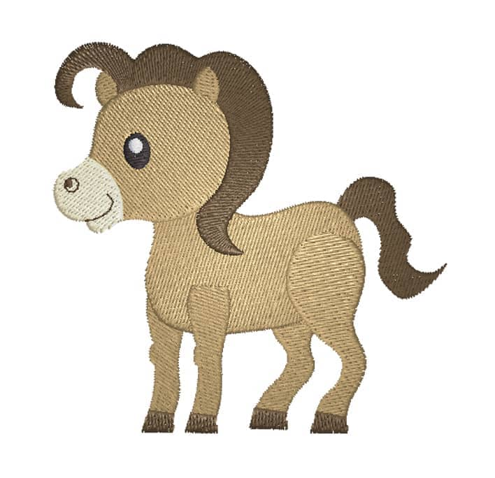 Pony braun