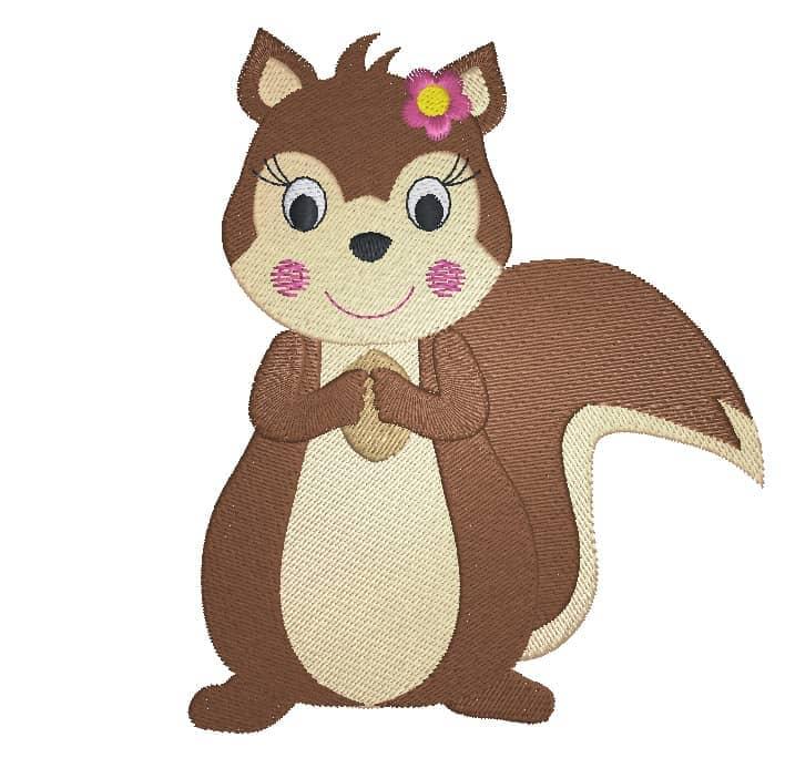 Eichhörnchen  Girl