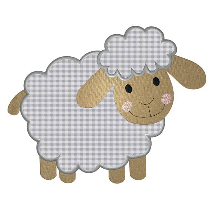 Schaf seitlich