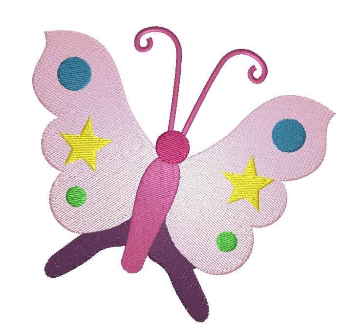 Schmetterling Sterne