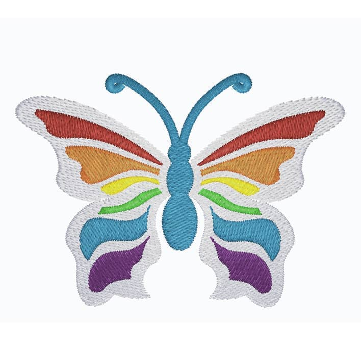 Schmetterling Rainbow