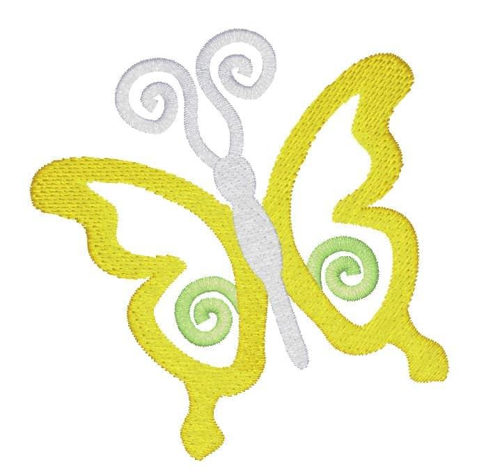 Schmetterling Spiralli