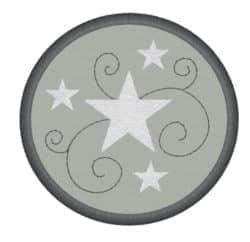 Sterne im Kreis