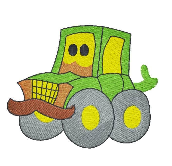 Traktor Comic