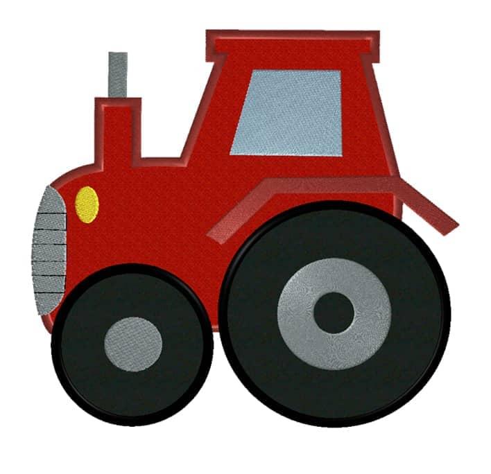 Traktor rot