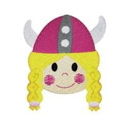 Wikingergirl Kopf