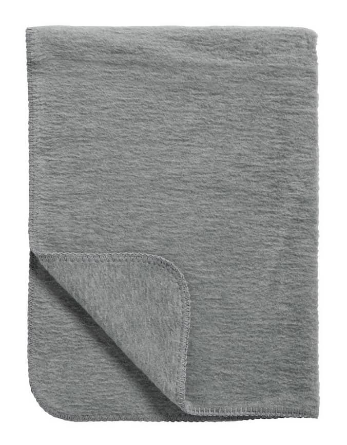 Babydecke  grau