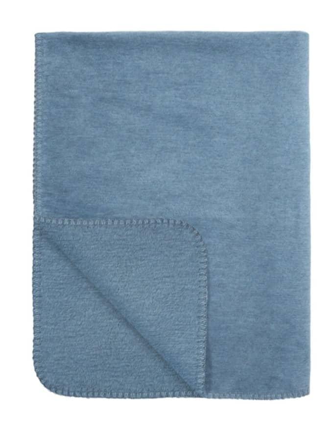Babydecke jeansblau
