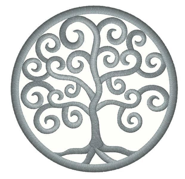 Lebensbaum Spiral