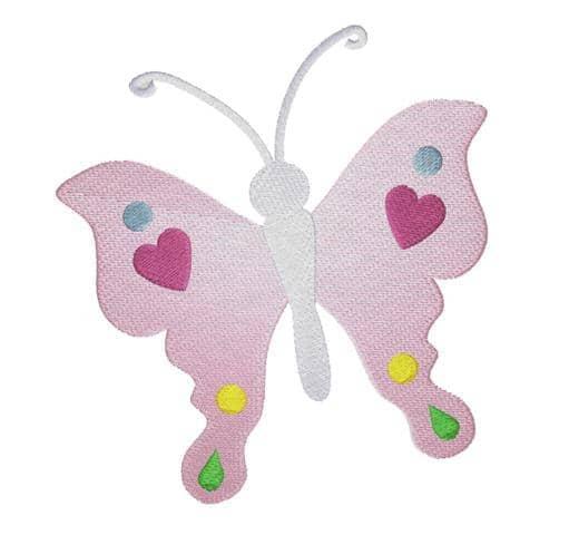 Schmetterling Herz