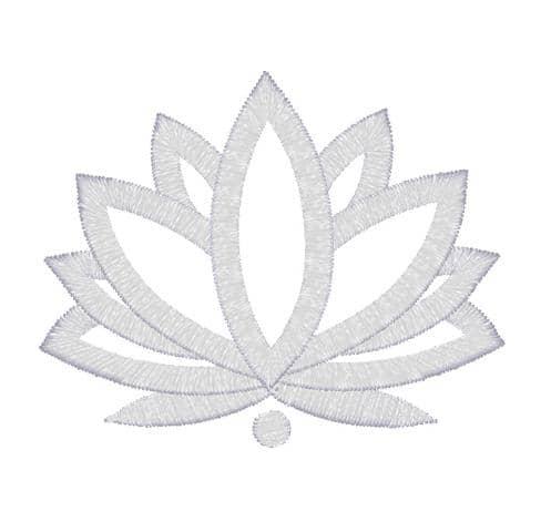 Lotus einfärbig